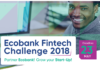Ecobank Launches Second African Fintech Challenge